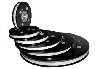 cemanco composite pulley ceramic insert high speed aluminum alumina oxide balanced
