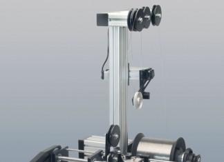 modular re-spooler lw-15 spooling traverse
