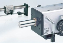 cemanco kmk linear reversing mechanical gear box drive traverse 15 millimeter mm spooling spooler