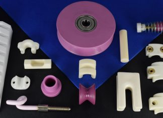 cemanco ceramic aluminum zirconium alumina zirconia oxide wear parts guide eyelet pulley roller snail pig tail slot slit tensioner tension spring jump textile