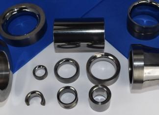 solid tungsten carbide wear parts cemanco roller ring guide half moon