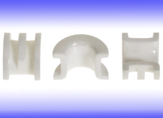 niehoff ceramic bow guide buncher zirconium zirconia oxide cemanco polished